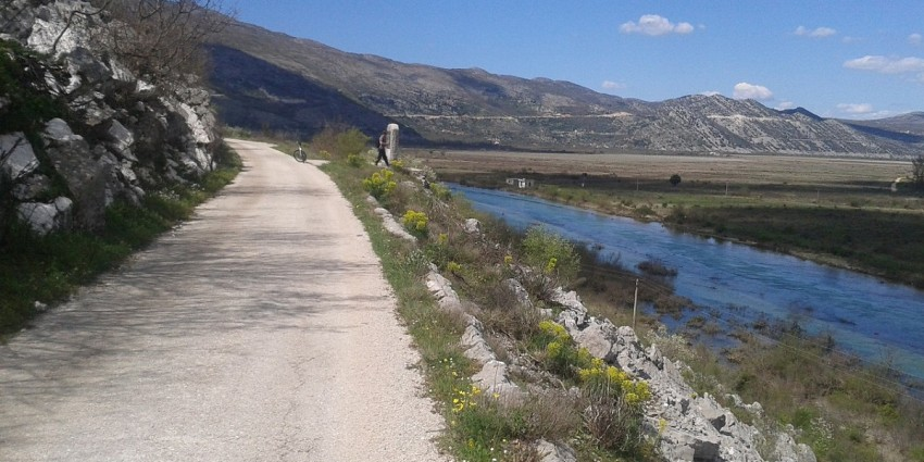 Road bike trip from Dubrovnik to Herzegovina & back