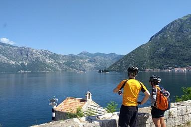 Self guided Cycling west Balkan triangle Croatia / Montenegro / Bosnia & Herzegovina