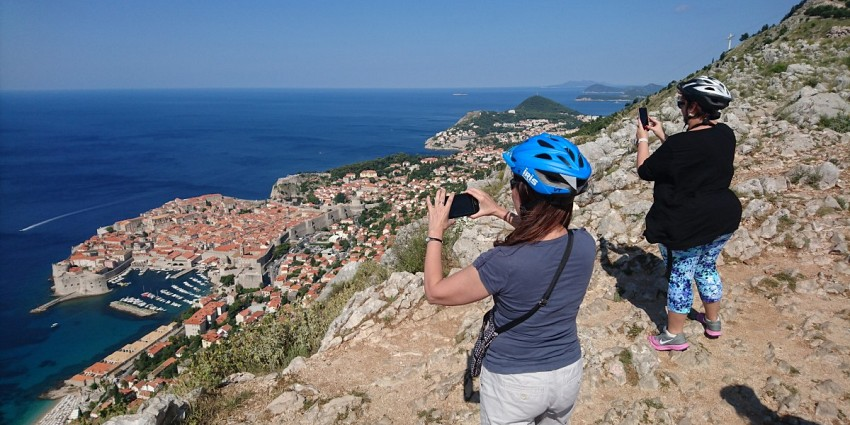 Dubrovnik panorama bike ride