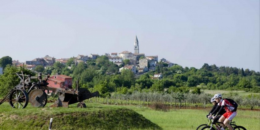Cycling Istrian peninsula