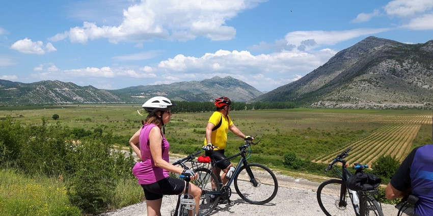 Ciro bike route from Dubrovnik to Sarajevo