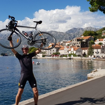 Cycling west Balkan triangle