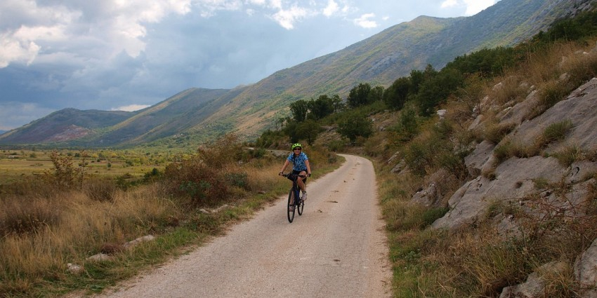 Ćiro railroad bike route - Self guided - 7 days