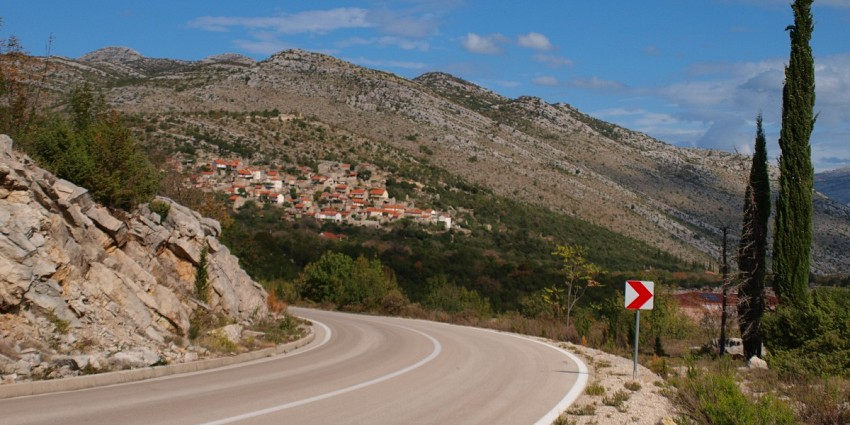 Guided Cycling west Balkan triangle Croatia / Montenegro / Bosnia & Herzegovina